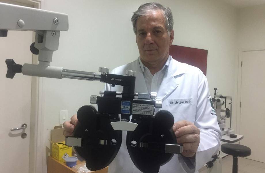 Oftalmologista Dr. Sérgio Isola